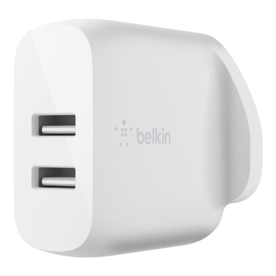 Belkin BOOST↑CHARGE™ Dual USB-A Wall Charger 24W