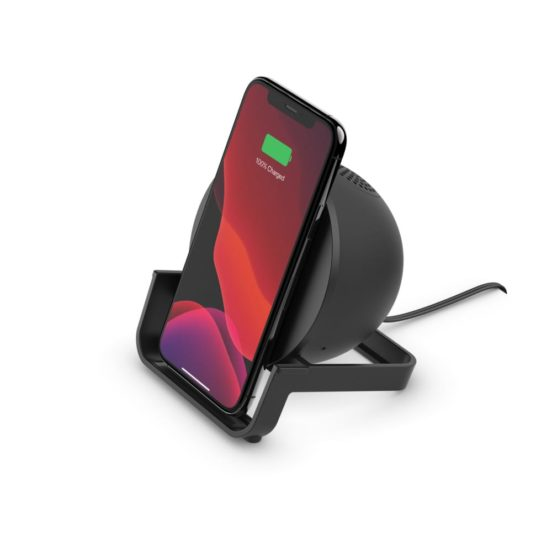 Belkin BOOST↑CHARGE™ Wireless Charging Stand + Speaker including Power Supply