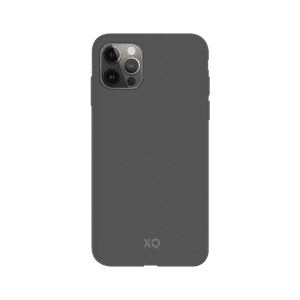 XQISIT Eco Flex Anti Bacterial Case for iPhone 12/12 Pro - Mountain Grey