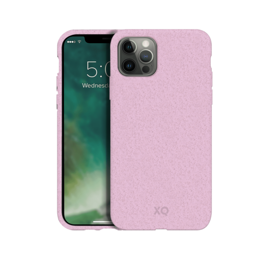 XQISIT Eco Flex Anti Bacterial Case for iPhone 12 Pro Max - Cherry Blossom Pink