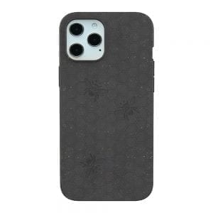 Pela Eco Friendly Engraved Case for iPhone 12 Pro Max - Black