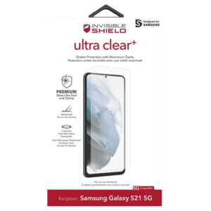 Additional image 1 for InvisibleShield Ultra Clear Plus for Galaxy S21 Ultra